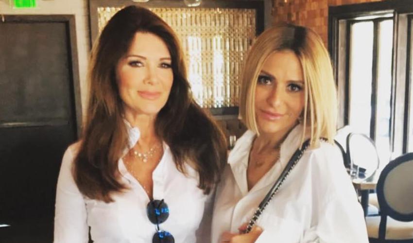 RHOBH Lisa Vanderpump and Dorit Kemsley