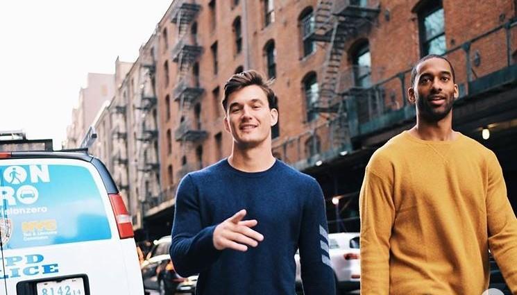 Tyler Cameron and Matt James via Instagram