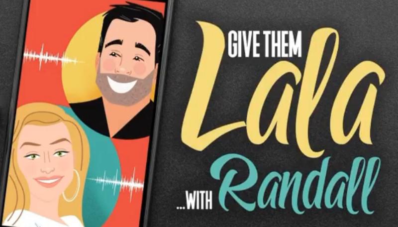 VPR Lala Kent and Randall Emmett Podcast Logo Instagram