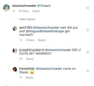 VPR Stassi Schroeder Instagram Screenshot