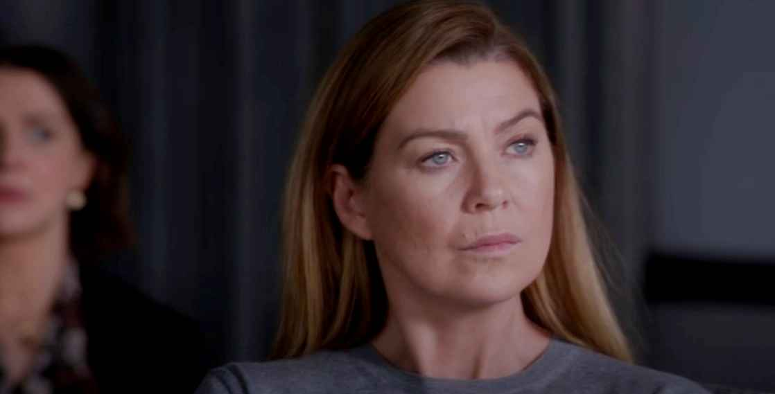 Ellen Pompeo as Meredith Grey in Grey's Anatomy