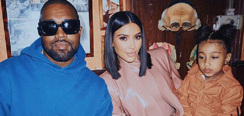 kim kardashian and kanye west on instagram