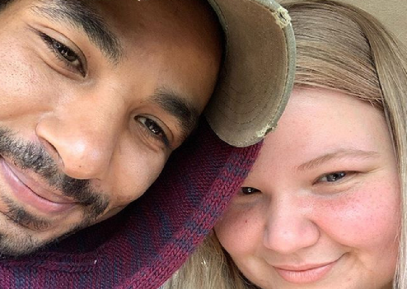 90 day fiance stars nicole and azan on instagram