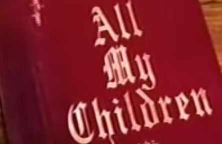 All My Children Logo YouTube Screenshot