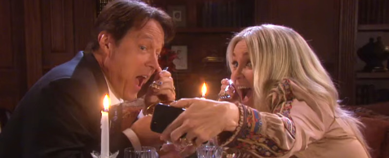 DOOL Matthew Ashford and Melissa Reeves YouTube Screenshot