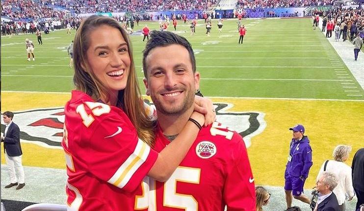 Jade Roper and Tanner Tolbert via Instagram