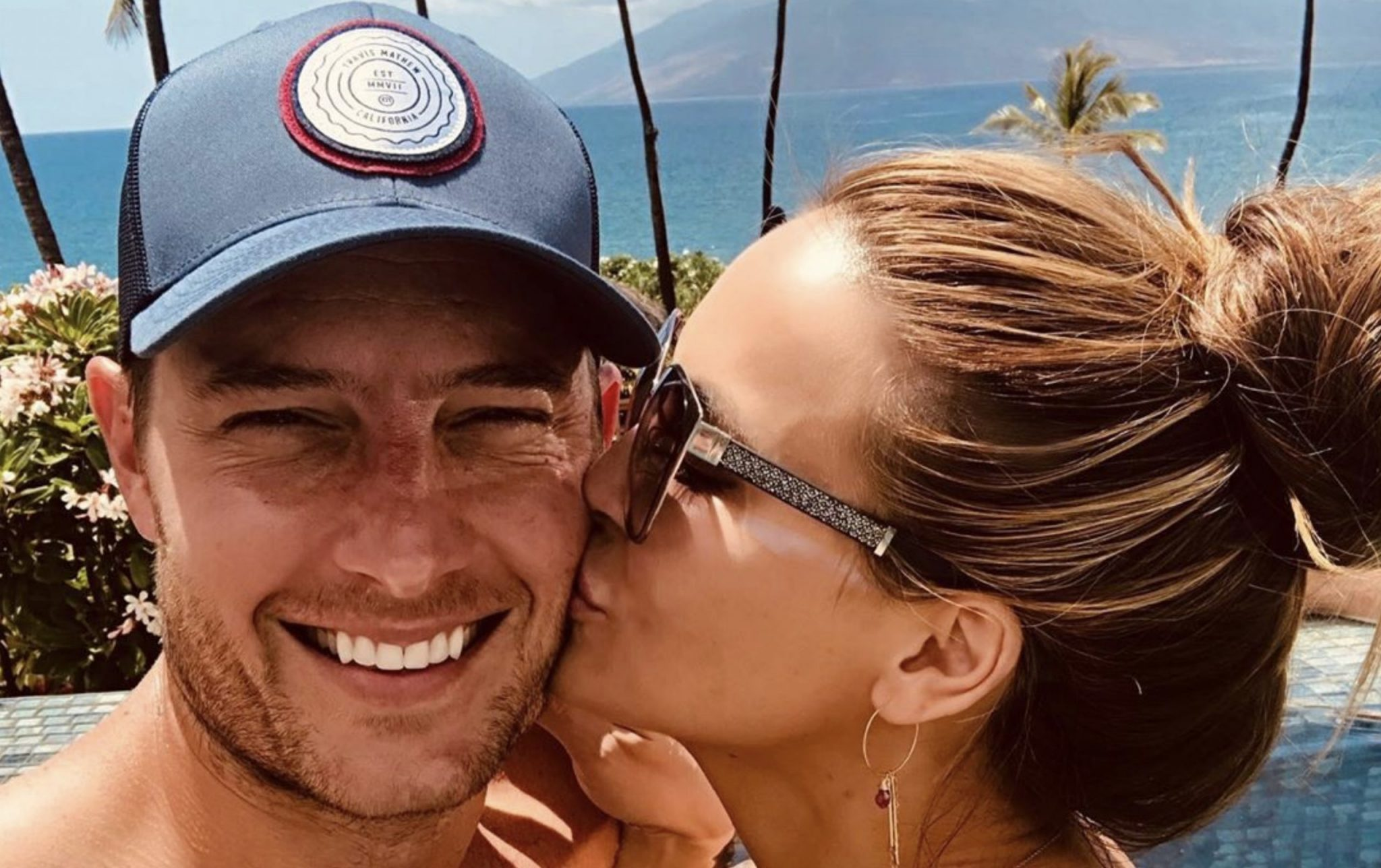 Justin Hartley, Chrishell Stause, Selling Sunset-https://www.instagram.com/p/By5pIwEnkxu/