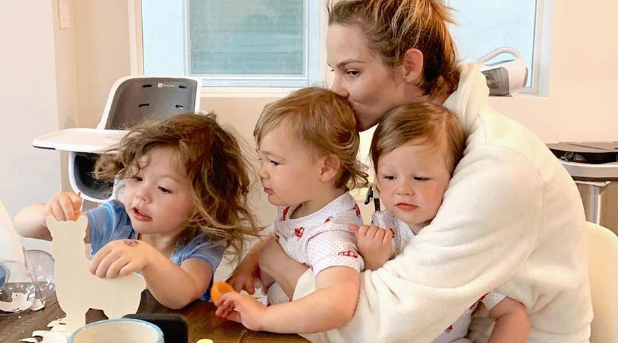 RHOC Meghan King and kids Instagram