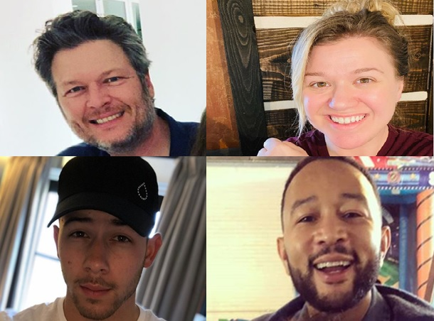 The Voice Judges on Instagram