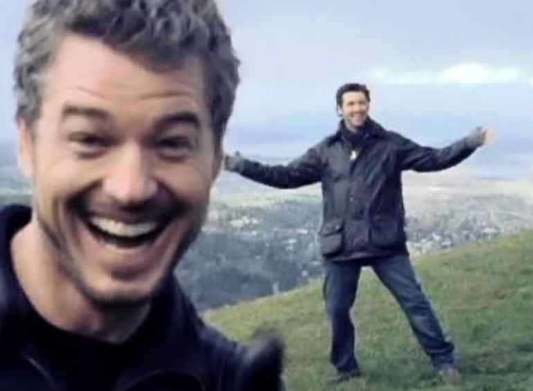 Eric Dane and Patrick Dempsey of Grey's Anatomy