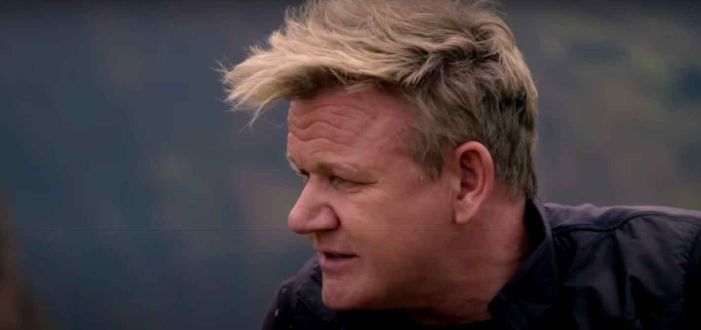 Gordon Ramsay on National Geographic's Uncharted