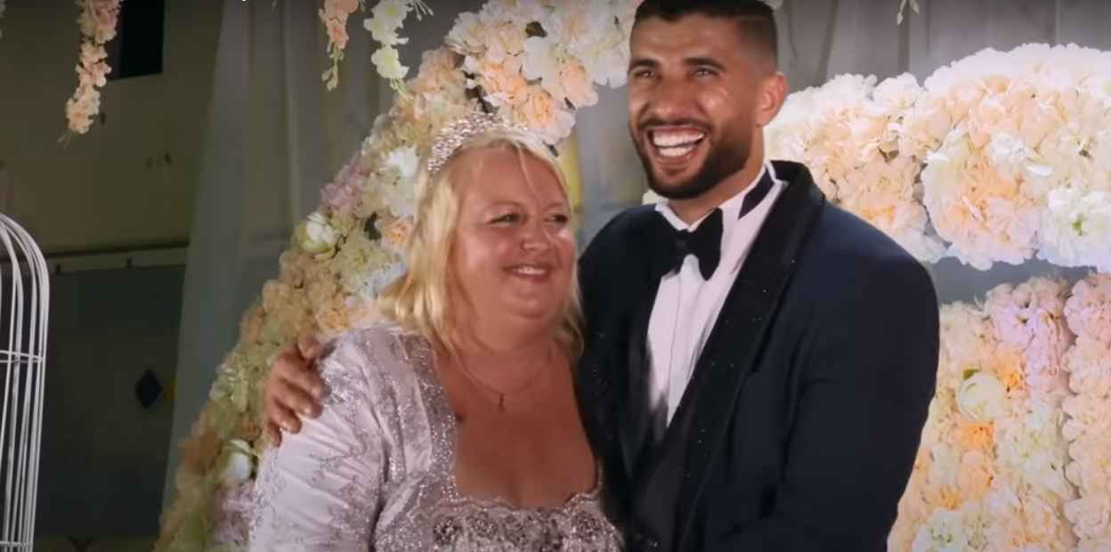 90 Day Fiancé stars Laura and Aladin's wedding in Tunisia