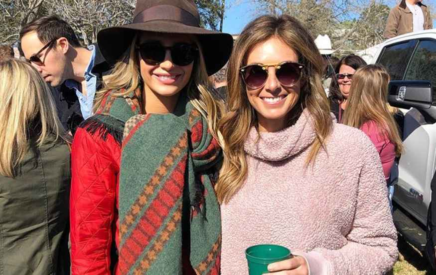 Naomie Olindo and Chelsea Meissner leaving Southern Charm