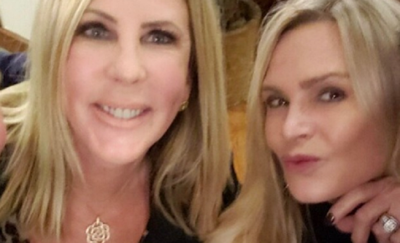 vicki gunvalson and tamra judge on instagram