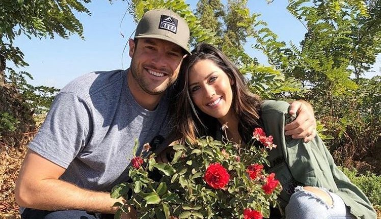 'Bachelorette' Becca Kufrin and Garrett Yrigoyen via Instagram
