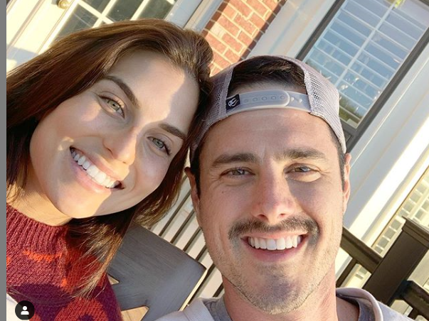 Ben Higgins, Instagram
