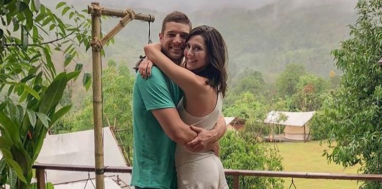 Garrett Yrigoyen and Becca Kufrin via Instagram