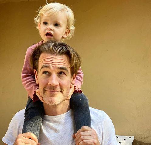 James Van Der Beek and his Daughter Instagram