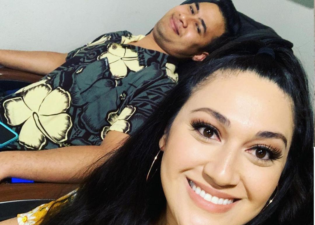 Kalani and Asuelu Instagram