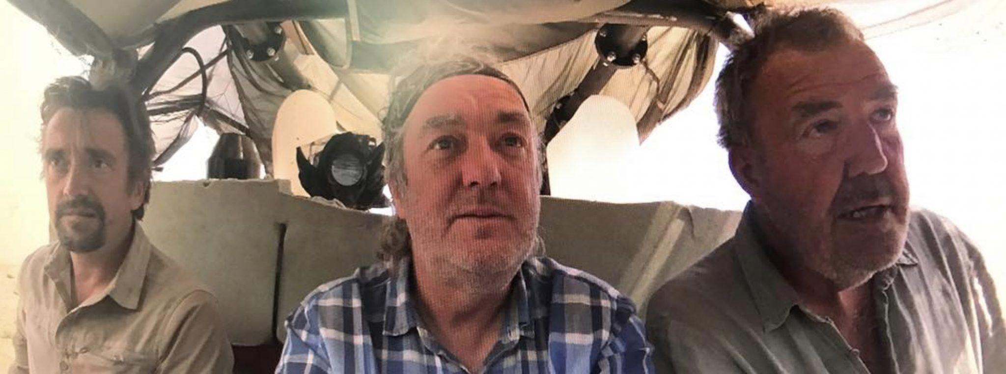 Richard Hammond, James May, Jeremy Clarkson, The Grand Tour, Amazon-https://www.instagram.com/p/Bq8JThWFNN7/
