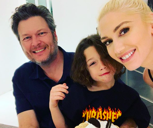 Gwen Stefani Instagram, the Voice, Blake Shelton