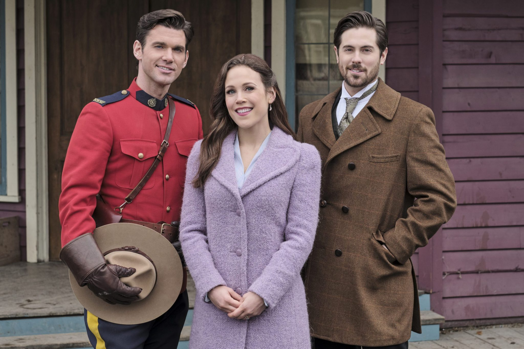 When Calls The Heart, Hallmark, Elizabeth hears good news. Lee gets a surprise that stirs up something from his past. Photo: Kevin McGarry, Erin Krakow, Chris McNally Credit: ©2020 Crown Media United States LLC/Photographer:David Dolsen