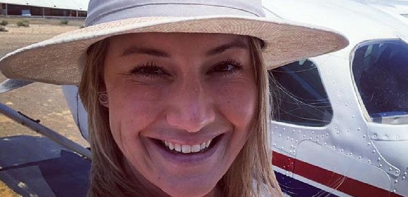 below deck med star hannah ferrier instagram selfie