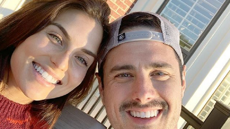 ben higgins and jessica clarke instagram selfie