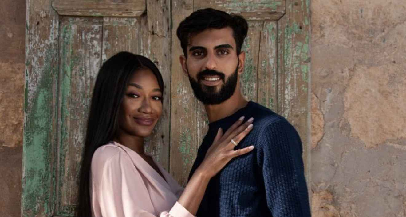 Brittany and Yazan of 90 Day Fiancé: The Other Way