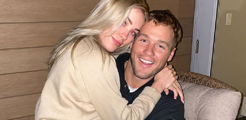 colton underwood and cassie randolph happier times