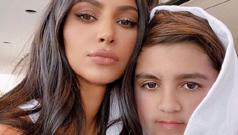 kim kardashian and mason disick instagram selfie