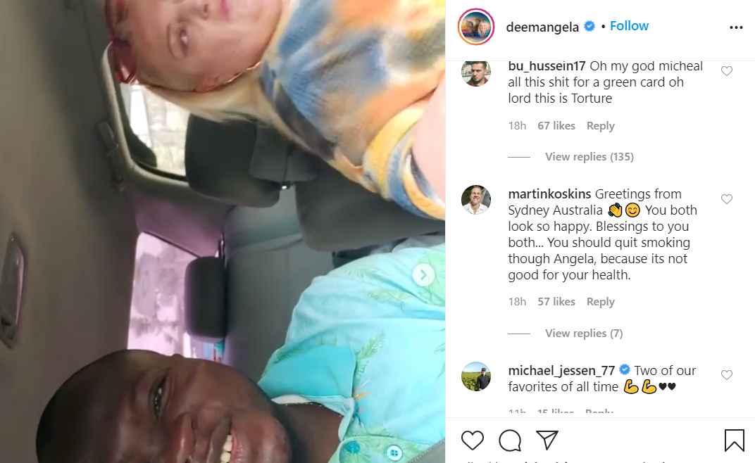 90 Day Fiancé star Michael Ilesanmi claps back at hater