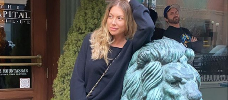 stassi schroeder and beau clark funny instagram post