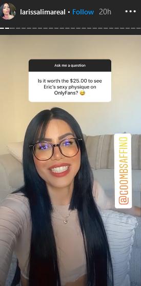 90 day fiance larissa lima instagram stories