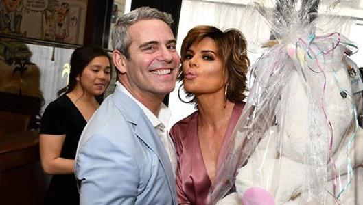 Bravo Andy Cohen and RHOBH Lisa Rinna Instagram