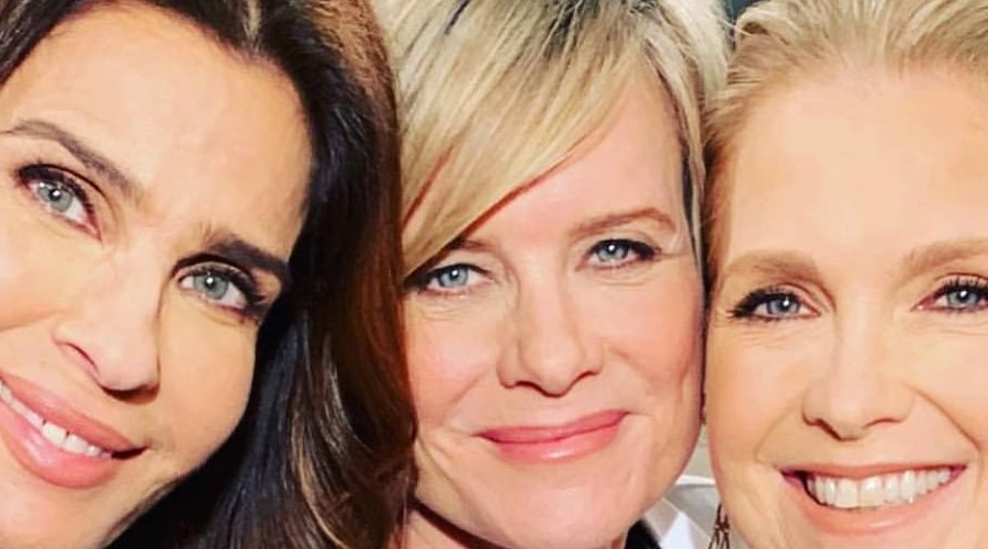 DOOL Kristian Alfonso, Mary Beth Evans and Melissa Reeves Instagram