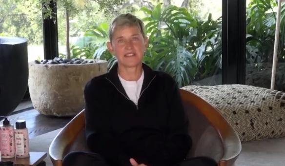 Ellen DeGeneres from Instagram