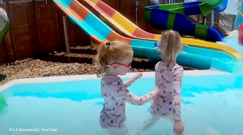 OutDaughtered family at the waterpark
