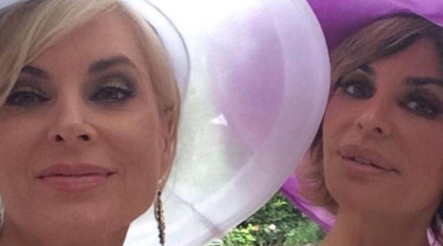 RHOBH Eileen Davidson and Lisa Rinna Instagram