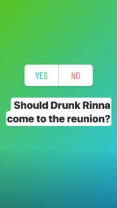 RHOBH Lisa Rinna Instagram Stories Screenshot