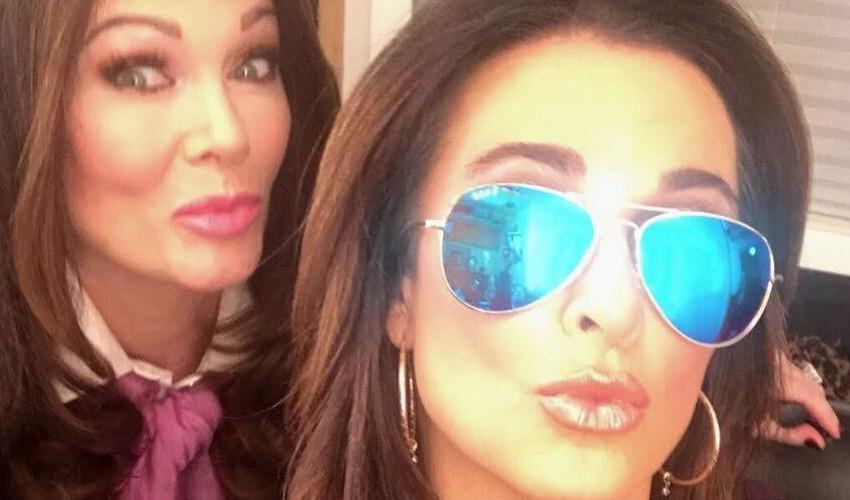 RHOBH Lisa Vanderpump and Kyle Richards Instagram