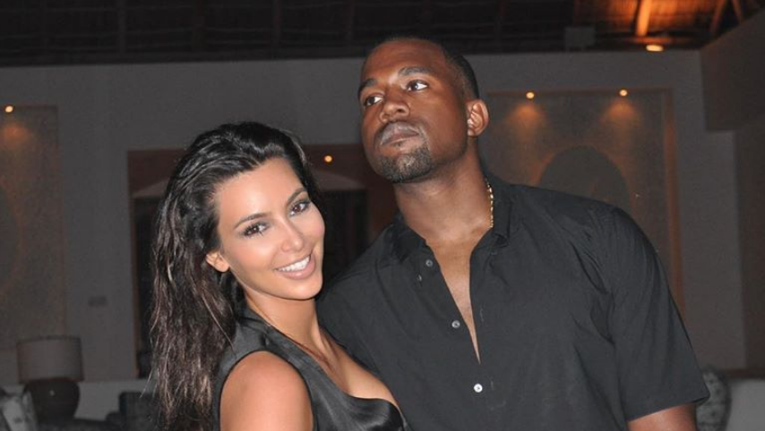 Kanye West, Kim Kardashian on Kanye West Instagram
