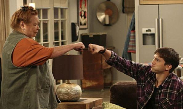 Conchata Ferrell, Two and a Half Men's official twitter page clip still.