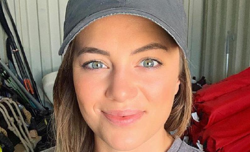 below deck med star malia white instagram selfie