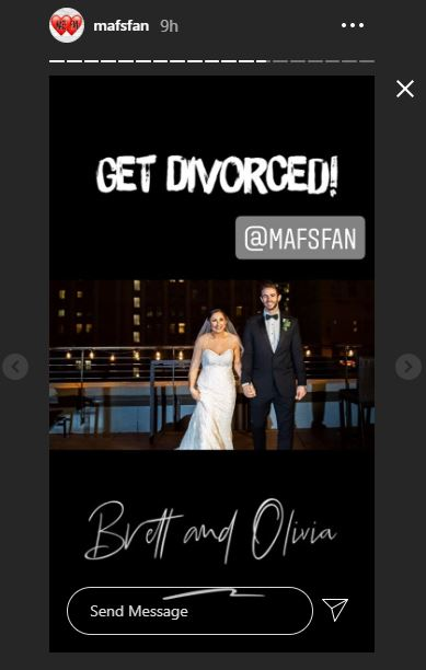 Married at first sight brett and olivia divorce