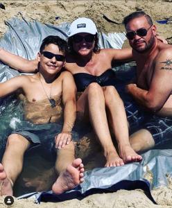 Collin and Jon Gosselin with Jon's Girlfriend Colleen