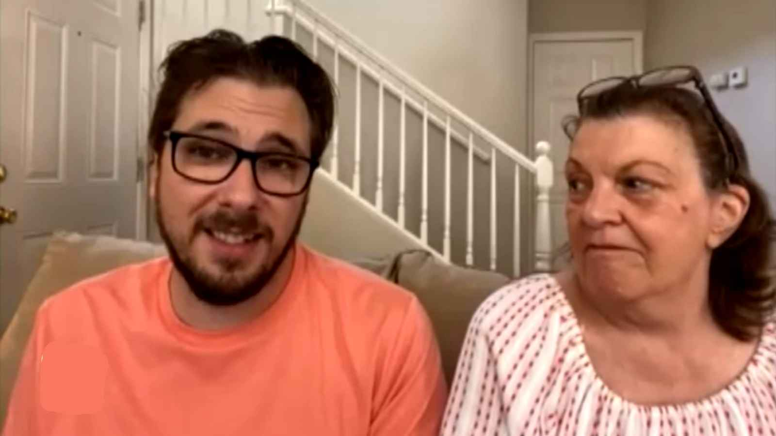 Colt Johnson and his mom Debbie of 90 Day Fiancé