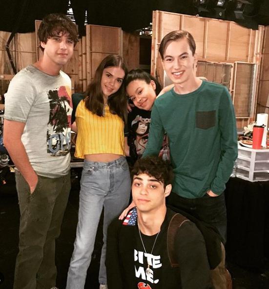 Original Fosters Cast Siblings Instagram