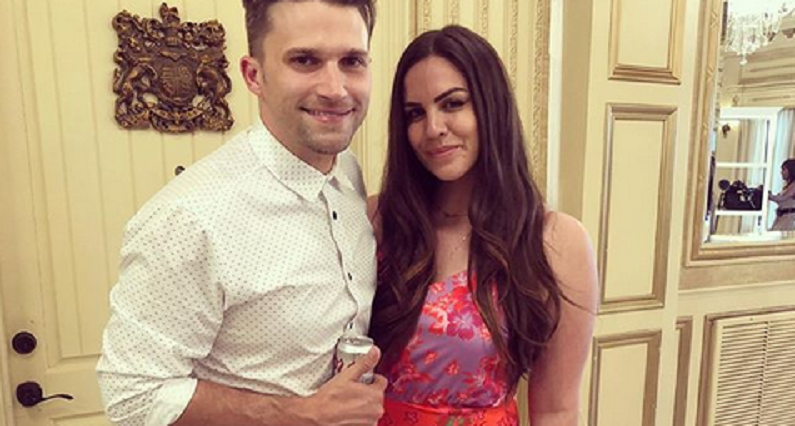 katie maloney and tom schwartz pose together on instagram