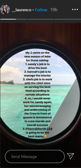 lauren cohen instagram stories